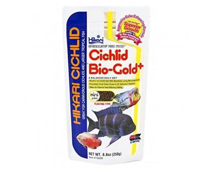Hikari Cichlid Bio-Gold+ Mini maistas žuvims; 57g, 250g