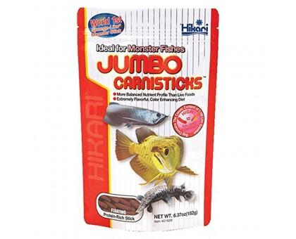 Hikari Tropical Jumbo Carnisticks maistas žuvims; 182g