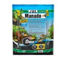 JBL Manado Dark natūralus substratas akvariumo augalams; 5l, 10l