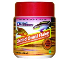 Ocean Nutrition Cichlid Omni Flake maistas žuvims; 34g, 71g