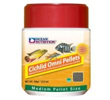 Ocean Nutrition Cichlid Omni Pellet medium maistas žuvims; 100g, 200g