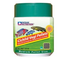 Ocean Nutrition Cichlid Vegi Pellet medium maistas žuvims; 100g, 200g