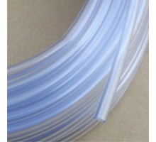 Hard PVC hose for CO2 4/6 mm (white) 1 m.