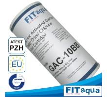 FITAQUA - Compressed carbon filtering element GAC-10