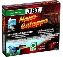 JBL Catappa Nano atogrąžų migdolų lapai; 10 vnt